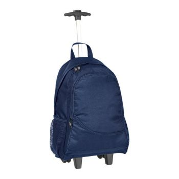 Personalised Verona Laptop Trolley Backpack - Navy